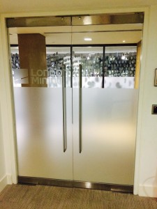 Glass Partition Doors