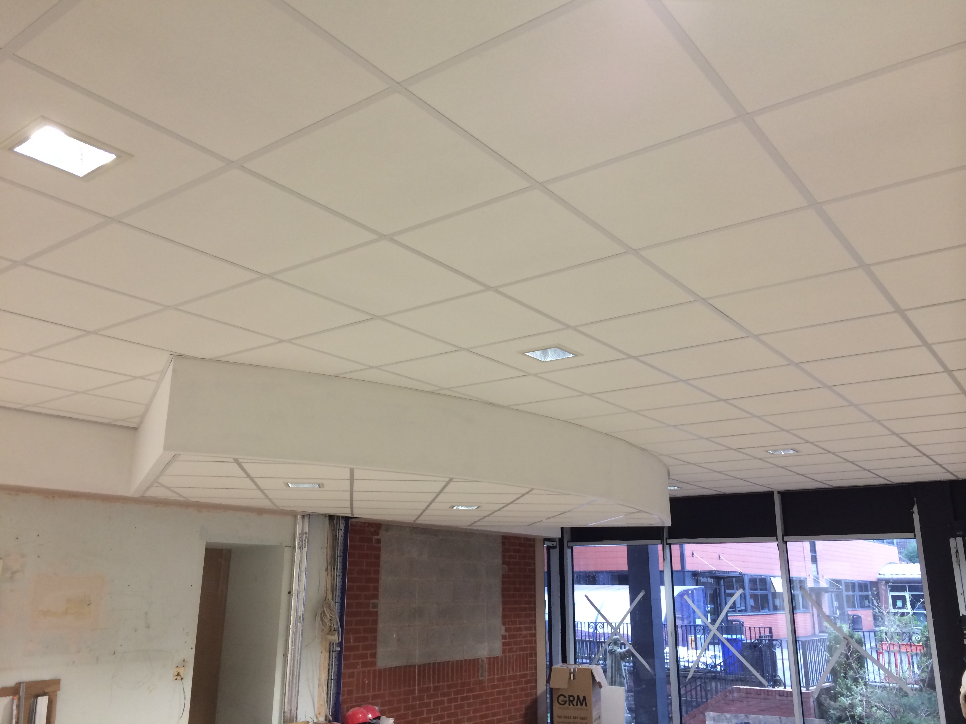 2 Stage Suspended Ceiling manchester