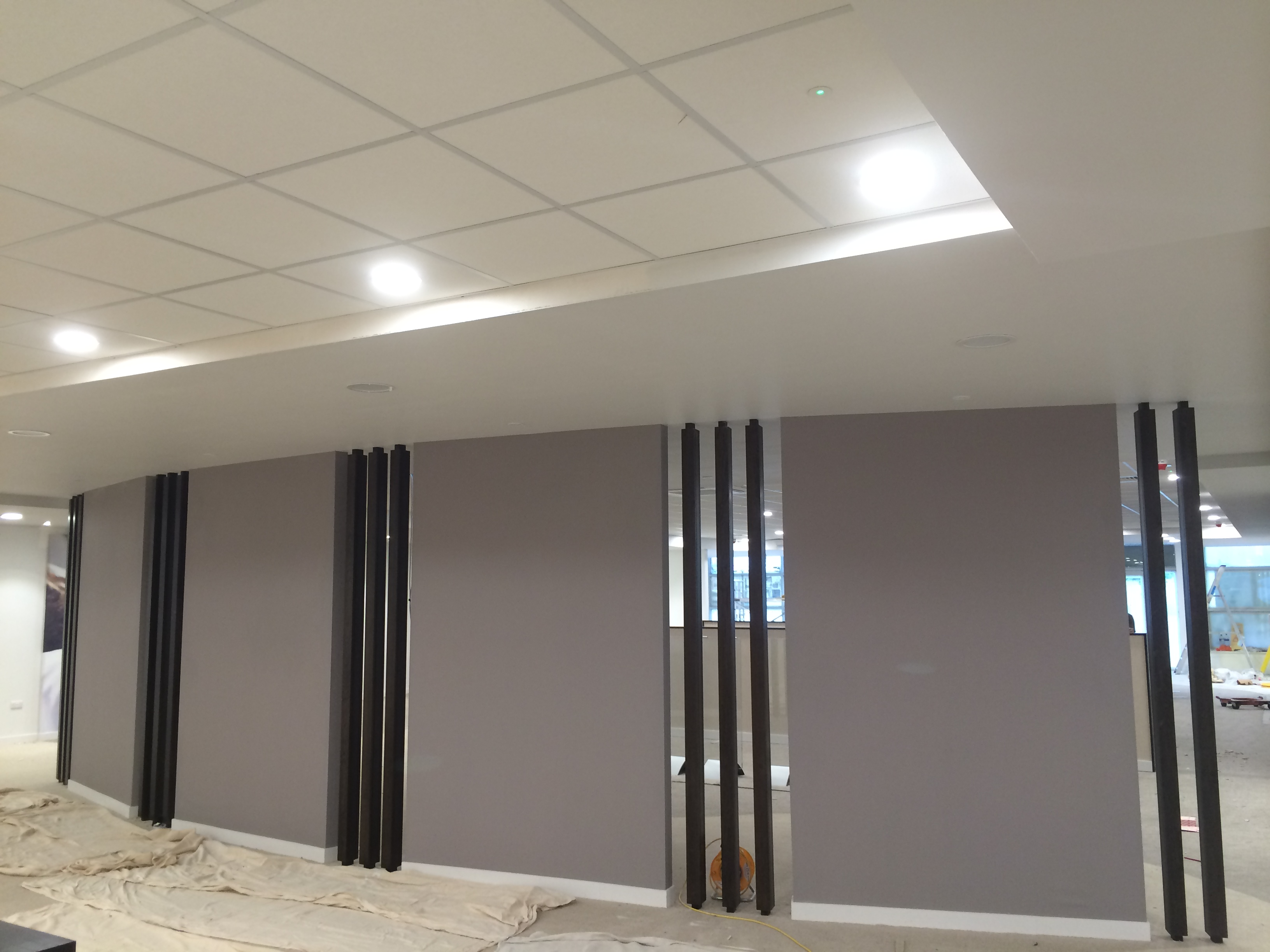 Office And Glass Partitions In Manchester KP Ceilings