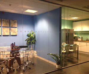 glass office partition Manchester